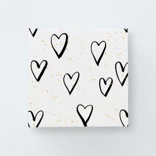 Splatter hearts