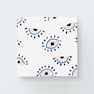 1 eye love you print