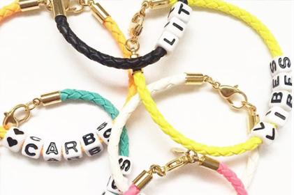 3b xo friendship bracelet