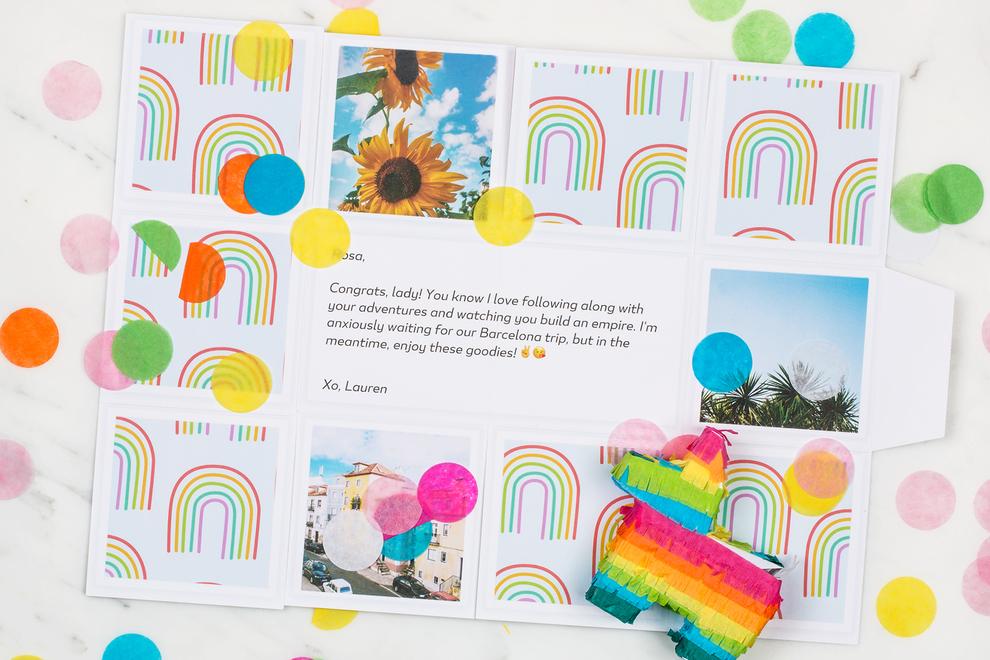 127   rainbow print   detail add3