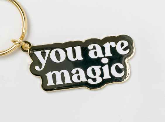 230   you are magic keychain   detail add1