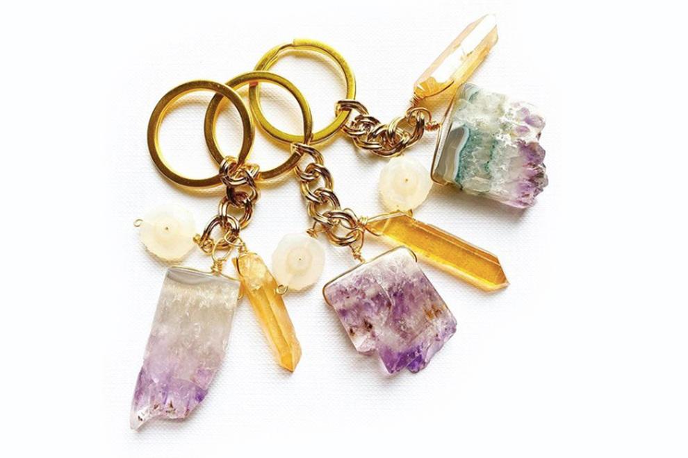 Gtb gift350   boho crystal keychain   detail main